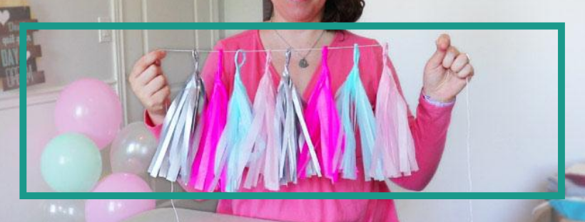 How To Make A Tissue Paper Tassel Garland – Video